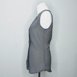 Japna Tops - Japna grey sleeveless blouse sz Large EUC